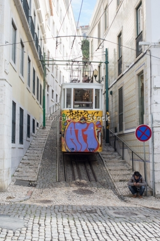 Ascensor do Lavra,Lisboa,Portugal