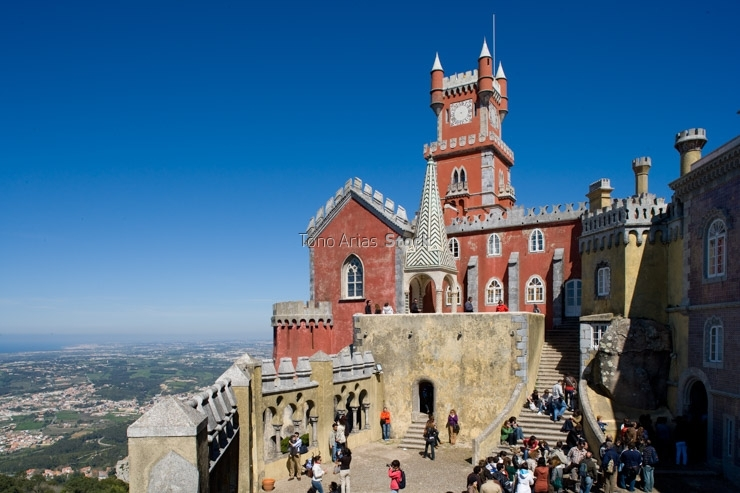 Portugal, Sintra, Da Pena Royal Palace