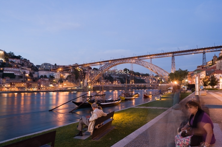 Puente Don Luis 1, Porto, Portugal