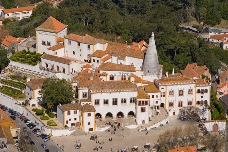 Royal Palace, Sintra, Portugal
